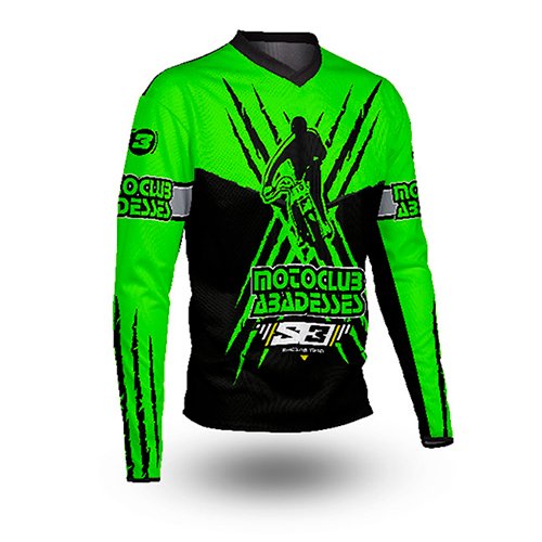 Camiseta Trial Moto Club Abadesses