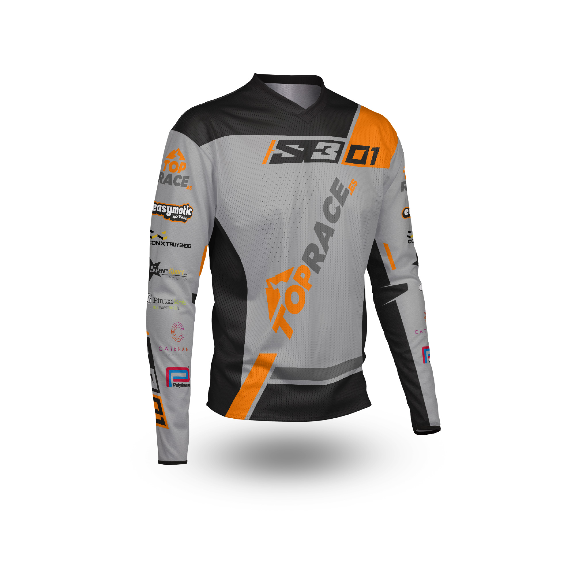 Camiseta Trial Top Race