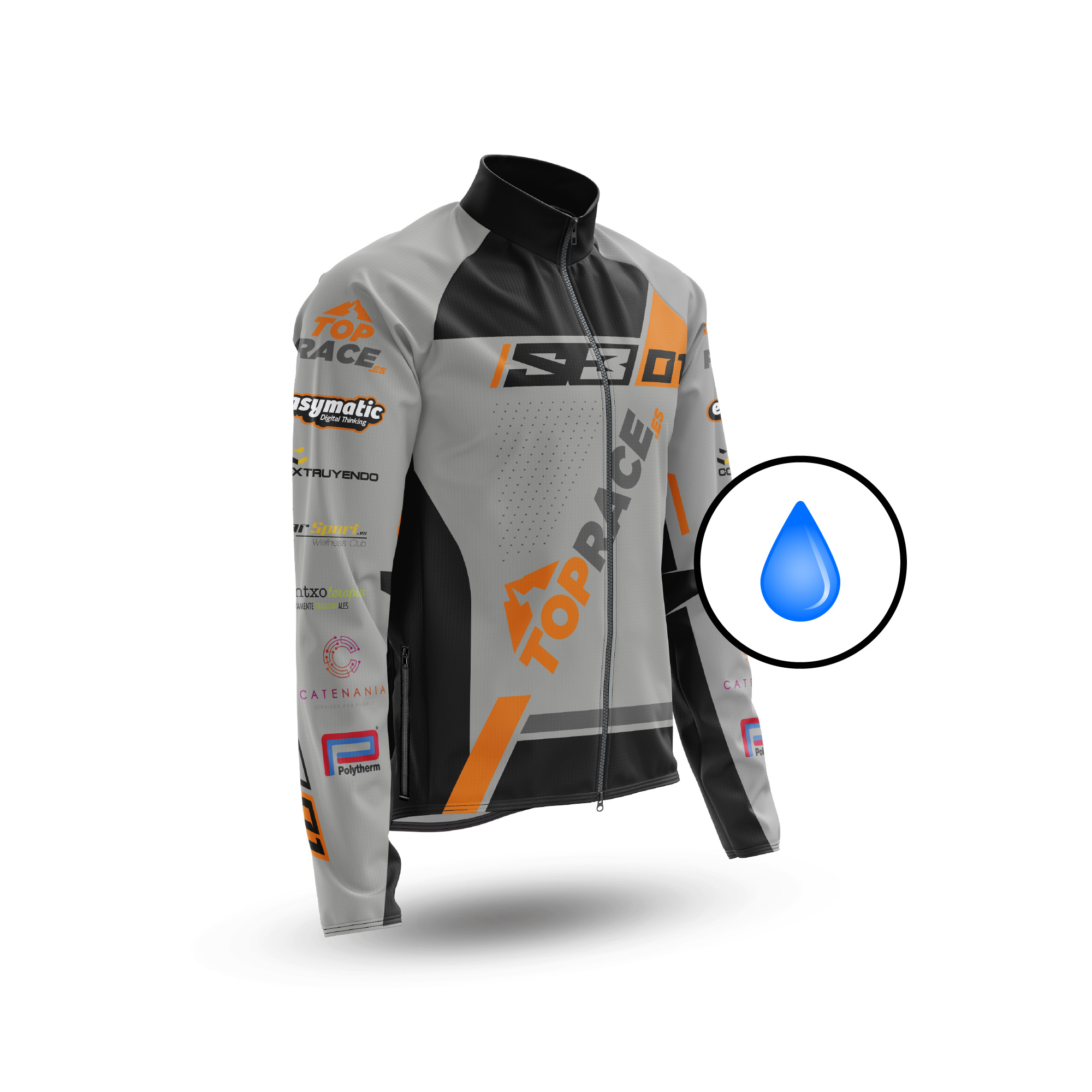 WaterResist Jacket Top Race